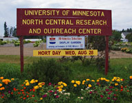 University Of Minnesota North Central Research
